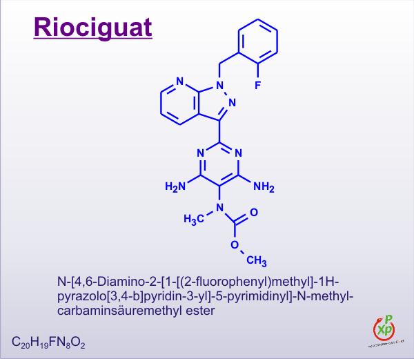 Kết quả hình ảnh cho Riociguat